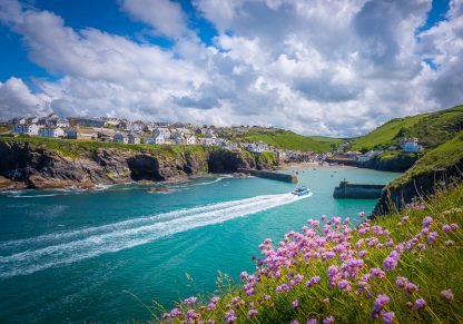 Port Isaac in the Spring