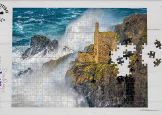 Crowns Mine, Botallack, Cornwall 1000-piece jigsaw