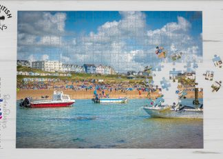 Summerleaze Beach, Bude jigsaw