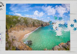 Pedn Vounder beach, Cornwall 1000-piece jigsaw