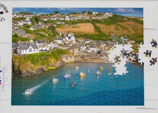 Port Isaac Harbour 1000-piece jigsaw