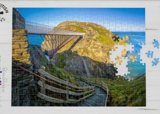 Tintagel, Cornwall 1000-piece jigsaw